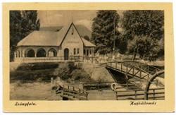 """*C"""" - 039 Futott magyarországi képeslapok  Leányfalu - hajóállomás  (eredeti 60 filléres)"""