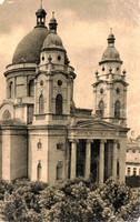 """*C"""" - 021 Futott magyarországi képeslapok  Cegléd - Református templom  (eredeti 60 filléres)"""