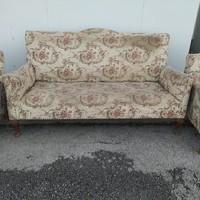 Vintage stílusú ülőgarnitúra