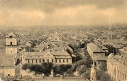 """*C"""" - 007 Futott magyarországi képeslapok  Cegléd - látkép  (eredeti 60 filléres)"""