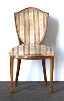 0X944 Gyönyörű antik támlás empire szék