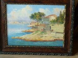 Eladó Vasvári Wertheimer Sándor: Capri című olaj karton festménye