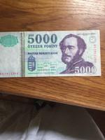 Régi 5000 forintos