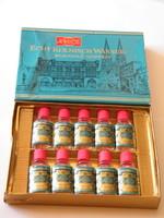 Vintage 4711 mini kölnik (10) db dobozban