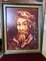 Szász Endre tanítványa által készített, kiváló  mű.