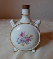 KP porcelán kulacs (Kőbányai Porcelángyár, retro / vintage)