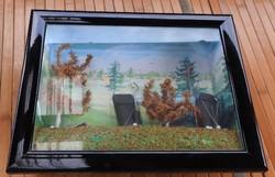 LA RUÉE VERS L'ART Collection RA - 3 D -s kézimunka művészeti falikép _ Golfra készülve