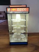 Zippo display öngyújtó vitrin