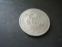 5 Lej 1978 Románia
