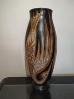 Gorka Lívia nagymèretű váza főnix madárral