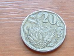 DÉL AFRIKA 20 CENT 1994 Cukorcserje Protea #