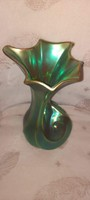 Zsolnay modern eozin váza
