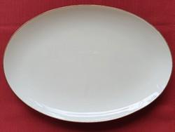 Alka-Kunst Alboth & Kaiser Bavaria német porcalán tálaló tál tányér