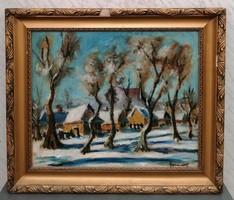 Gyimesi Kásás Ernő ( 1901) / Nagybánya Télen