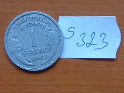 FRANCIA 1 FRANC FRANK 1945 ALU.  S323