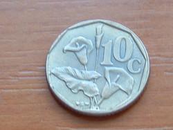 DÉL AFRIKA 10 CENT 1991 ARUM LILIOM #