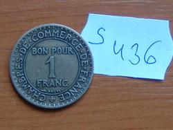 FRANCIA 1 FRANC FRANK 1923 S436