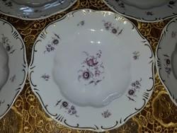 Zsolnay étkészlet,levés tányér