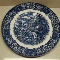 5 db gyönyörű mintájú angol Royal Tudor porcelán dísztányér