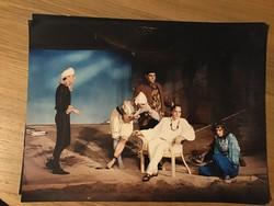 Katona József Színház Vízkereszt 1989 előadásának reklámképei 40x30 cm egyben 2000 Ft Stohl András