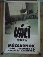 Váli Dezső kiállítás plakát