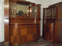 2 gyönyörű tálaló szekrény és asztal