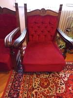 2 db. kolonial fotel