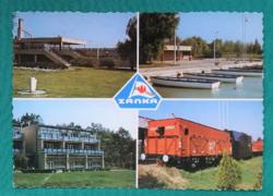 Magyarország,Zánka,Balatoni úttörőváros,,használt képeslap,1988