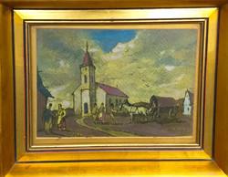 Rudnay Gyula (1878 - 1957 ) : Úton a templomba 1945