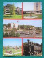 Magyarország,Zánka úttörőtábor,használt képeslap,1988