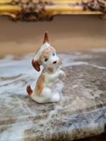 Régi Aquincum porcelán kiskutya