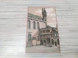 Antik képeslap. Belgium.