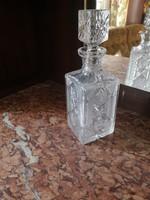 Ólomkristály karaffa dugóval, hibátlan állapotú