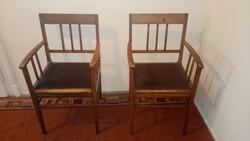 2 antik karfás szék