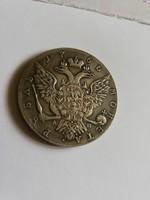 Orosz Uralkodó II. Katalin rubel 1766