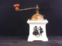 Leinbrock árnyjelenetes porcelánházas kávédaráló