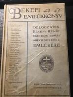 Békefi Remig Emlékkönyv / 1912