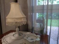 Herendi lámpa és hamutartó / Fortuna restaurant /