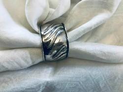 G.Hermeling ezüst szalvétagyűrű