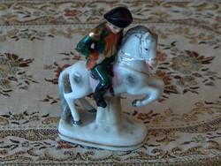 Antik altwien Napóleon szobor, miniatűr, hibátlan