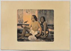 Paul Gauguin-rézkarc!!! Igen ritka-leárazáskor nincs felező ajánlat!