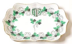 Herendi porcelán, OTP-s jellel ellátott tálka / ritka!