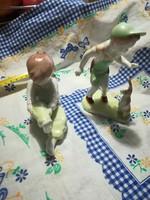 2 db. porcelán figura eladó