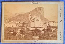 Arco e Levico Képeslap 1889