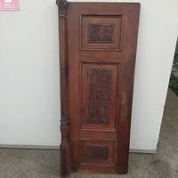 Dúsan faragott Ónémet szekrényajtó- dekorációs céllal
