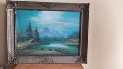 Tájkép festmény Kékesy jelzéssel 82x65 cm