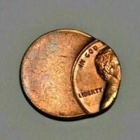 USA 1982 Lincoln cent KB. 70 %-ban félre vert érme !