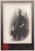 1907 katona vizit kép Bruck A/L u.K.u.K Militar Lager