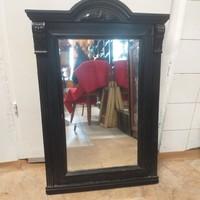 Régi Fa Paraszt Tükör, 80 cm.