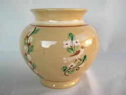 Hódmezővásárhelyi Vékony kerámia madaras váza
